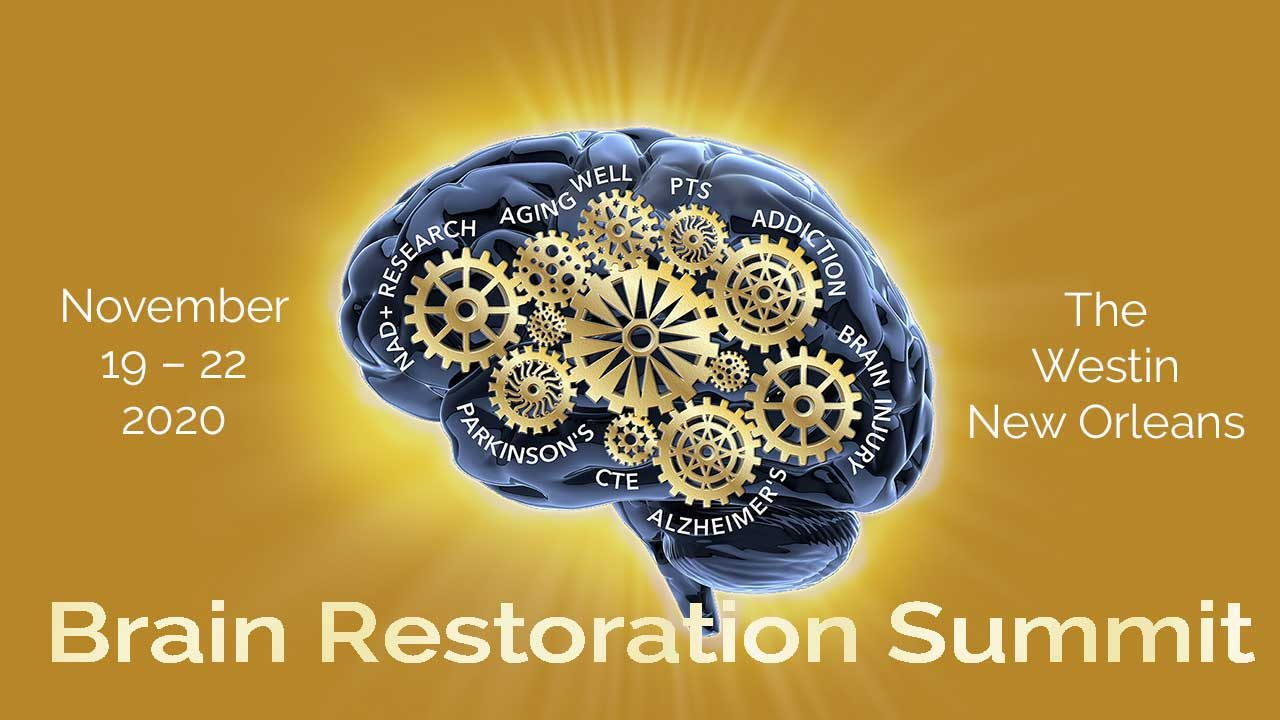 NAD+ 2020 Brain Restoration Summit